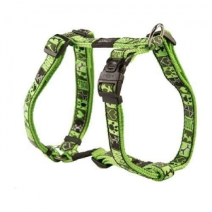 Rogz Fancy Dress надгръдник за кучета, размер S - зелен 1
