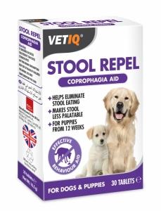 Mark & Chappell Stool Repel Coprophagia Remedy - таблетки против копрофагия, 30 таблетки