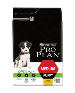 Purina Pro Plan Optistart Puppy Medium Chicken 800 гр. - суха храна за кученца, средни породи на възраст, до 12 месеца 1