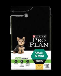 Purina Pro Plan Optistart Puppy Small Mini - суха храна за кученца, мини и малки породи на възраст до 12 месеца 1
