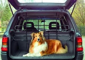 Karlie car protective wire - преграда за кола 160/130 см. 1