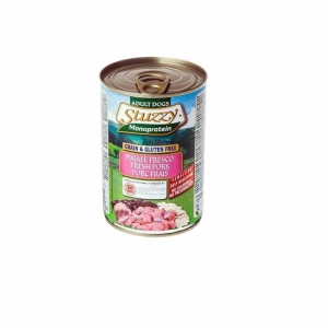 Stuzzy Monoprotein Храна със свинско месо за чувствителни кучета над 1 година, 0.800 кг.