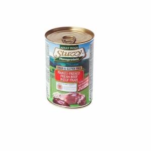 Stuzzy Monoprotein Храна с говеждо месо за чувствителни кучета над 1 година, 0.800 кг.