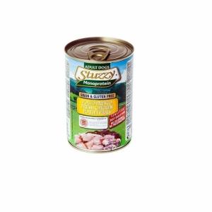 Stuzzy Monoprotein Храна с пилешко месо за чувствителни кучета над 1 година, 0.400 кг.