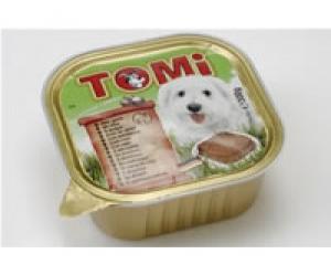 Tomi Wild - пастет за кучета с месо от дивеч, 300 гр.