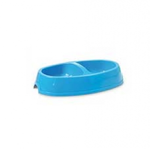 Savic Двойна купа за храна и вода Picnic dog, Синя, 2 x 400ml 1