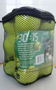 Karlie Тенис топка за кучета, 6см - комплект 12 бр 1