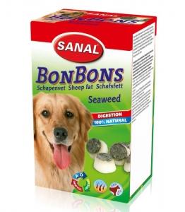 Sanal Бонбони за козина с овча мазнина и морска трева - Sheep Fat BonBons Seaweed 150 гр