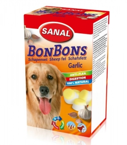 Sanal Бонбони за козина с овча мазнина и чесън - Sheep Fat BonBons Garlic 150 гр