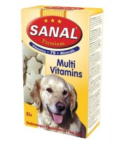 Sanal Мултивитамини за кучета - Multi Vitamins 85 таблетки