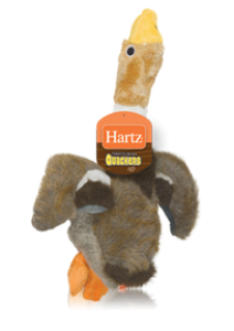 Hartz Играчка за куче - Патица Quackers Plush S