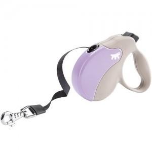 Ferplast - Amigo Tape Small Purple/Beige Повод за кучета до 15 кг 1
