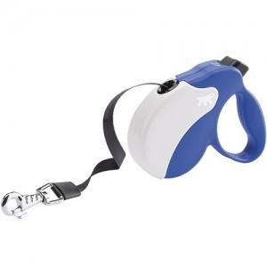 Ferplast - Amigo Tape Small Blue/White Повод за кучета до 15 кг 1