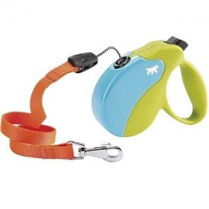 Ferplast - Amigo Cord Colours Cord Small Green/Light Blue Повод за кучета до 15 кг 1