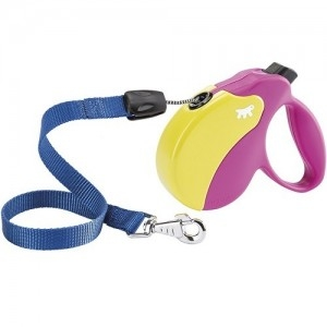 Ferplast - Amigo Cord Colours Cord Small Pink/Yellow Повод за кучета до 15 кг 1