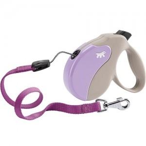 Ferplast - Amigo Cord Small Purple/Beige Повод за кучета до 15 кг 1