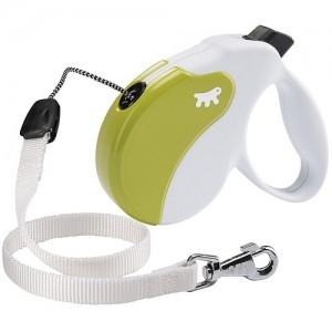 Ferplast - Amigo Cord Small Green/White Повод за кучета до 15 кг 1