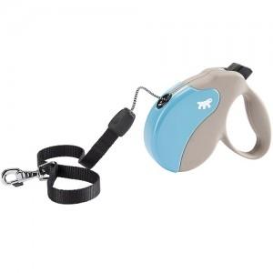 Ferplast - Amigo Cord Small Light Blue/Gray Повод за кучета до 15 кг 1