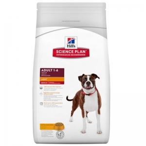 Hill's - Science Plan™ Canine Adult Light Chicken - суха храна за кучета, диетична, пилешко 1