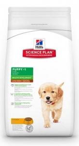 Hill's Science Plan Large Breed Puppy с пилешко – Пълноценна суха храна за големи породи кучета от отбиване до 1 година. За бременни и кърмещи кучета /с пилешко/. 1
