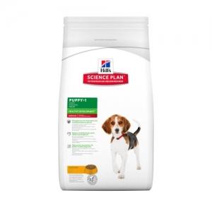 Hill's Science Plan Puppy Medium с пилешко – Пълноценна суха храна за средни породи кучета от отбиване до 1 година. За бременни и кърмещи кучета /с пилешко/. - 3 кг 1