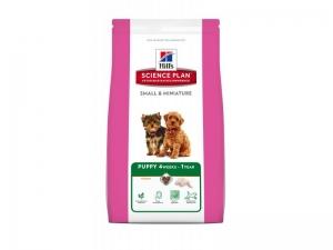 Hill's Small & Miniature Puppy- суха храна за кученца от малките и мини породи, до 1 година, 1.5 кг