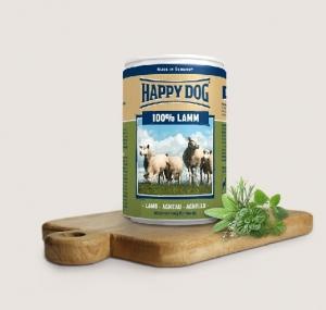 Happy Dog Lamm Pur- консерва за кучета, агнешко, 200 гр.