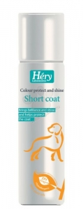 Hery - Short coat Colour protect and shine spray Спрей за кучета - опаковка 125 мл.