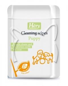 Hery - Puppy wipes Мокри кърпички за кучета - опаковка от 40бр.