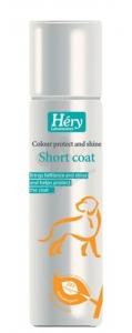 Hery - Short coat Colour protect and shine spray Спрей за кучета - опаковка от 400 мл.