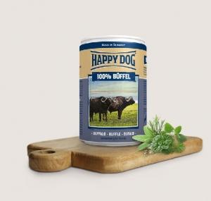 Happy Dog Biffel Pur- консерва за кучета, биволско месо, 800 гр.