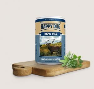 Happy Dog Wild Pur- консерва за кучета, еленско месо, 800 гр.