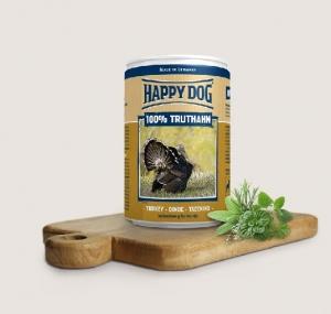 Happy Dog Truthahn Pur- консерва за кучета, пуешко, 800 гр.