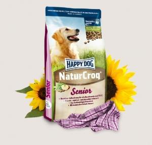 Happy Dog Natur Croq Senior Премиум храна за кучета - опаковка 4кг.