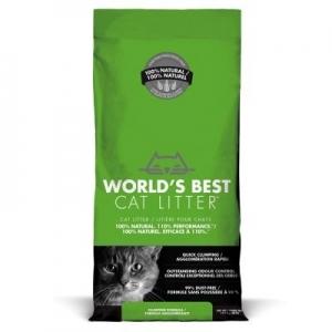Worlds Best Cat Litter Clumping cat - най добрата тоалетна за Вашият дом, 3.18 кг. 1