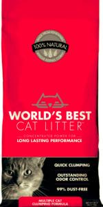 Worlds Best Cat Litter Multiple cat - най добрата тоалетна за Вашият дом 3.18 кг. 1
