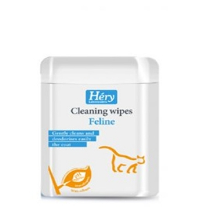 Hery Feline wipes Мокри кърпички за котета 25 бр.