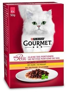 Gourmet Mon Petit Chicken Mix - изискана рецепта / с патица, пиле, пуйка / 6 броя по 50 грама