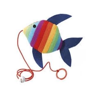Ferplast Plush toy for cats pa5024 - играчка за котка, 1 брой Синя 1
