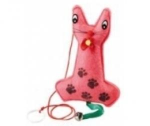 Ferplast Plush toy for cats pa5024 - играчка за котка, 1 брой Червена 1