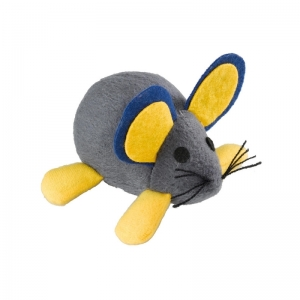 Ferplast Cloth mouse spring pa5007 - вибрираща играчка 10 / 5,5 cm - ø 11 cm 1