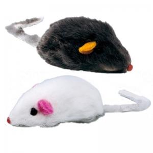 Ferplast pa5004 - играчка за котки, мишки 2 броя