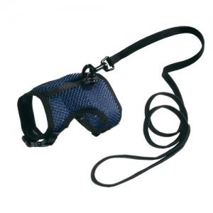 Ferplast Jogging XL - повод за малки животни с обиколка на врата 25.5-30.5 см.,и обиколка на гърдите 35.5-40.5 см Син 1