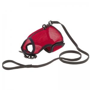 Ferplast Jogging XL - повод за малки животни с обиколка на врата 25.5-30.5 см.,и обиколка на гърдите 35.5-40.5 см Червен 1