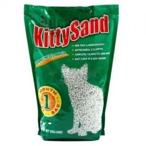 Kitty Sand Natural Бентонитова котешка тоалетна - 5 кг.
