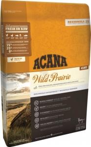 Acana Wild Prairie Cat  - Храна за порастнали котки с пилешко и риба 5.4 кг. 1
