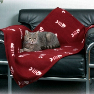 Trixie Beany Fleece Blanket - Меко одеяло за котки 100 х 70 см 1