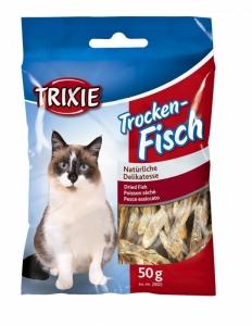 Trixie Dried Fish - Деликатесна сушена риба за котки 50 гр. 1