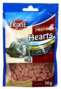 Trixie Hearts - Лакомство за котки патешки гърди и риба треска 50 гр.