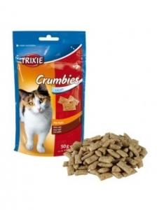Trixie Crumbies with malt - Лакомство за котки под формата на гранулен джоб с малцова паста 50 гр.